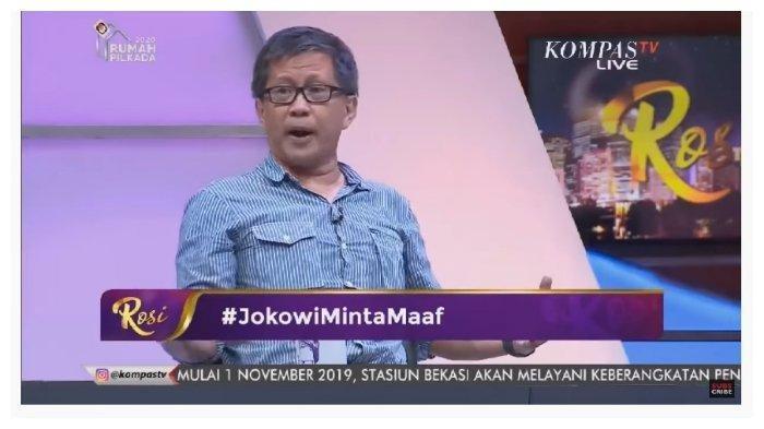 Soal Tetty Paruntu Tak Jadi Menteri, Rocky Gerung Imbau Jokowi Minta Maaf:Dia Dipermalukan