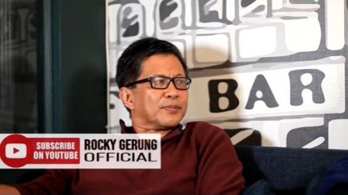 Rocky Gerung Tanggapi Kemarahan Prabowo ke Edhy: Ini Soal Psikologi yang Melekat pada Dirinya