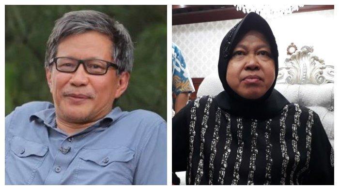 Soal Penghinaan Wali Kota Surabaya Risma, Rocky Gerung Bandingkan dengan Anies Baswedan