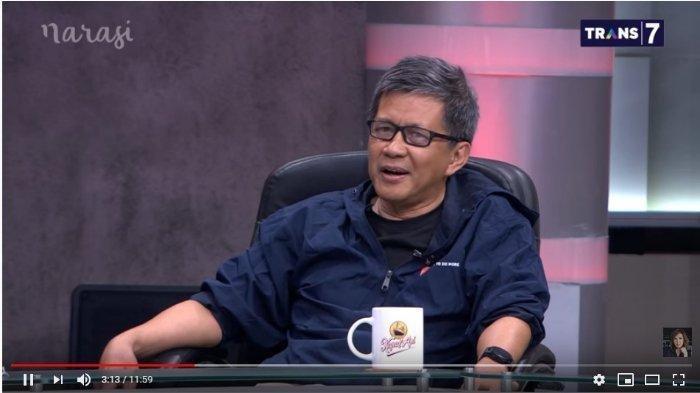 Rocky Gerung dalam acara Mata Najwa, Rabu (11/12/2019).