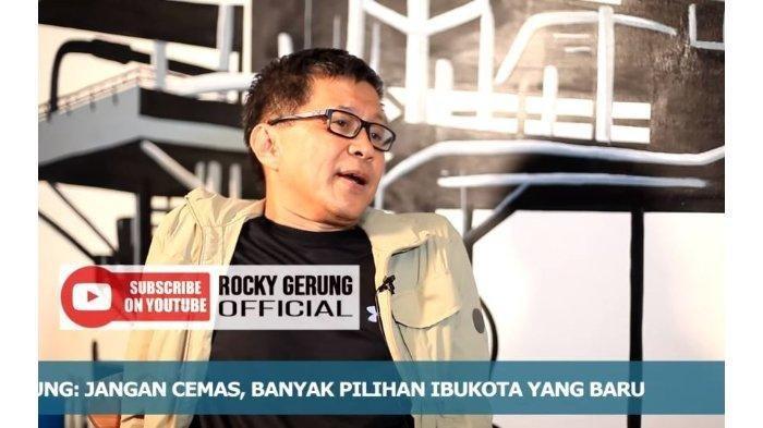 Yakin Pemindahan Ibu Kota ke Kalimantan Bakal Gagal, Rocky Gerung: Lebih Baik Pindahkan Presiden