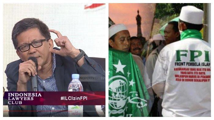 Berandai-andai Rizieq Shihab Tak Pimpin FPI hingga Gantikan Mahfud MD, Rocky Gerung: Bubar Enggak??