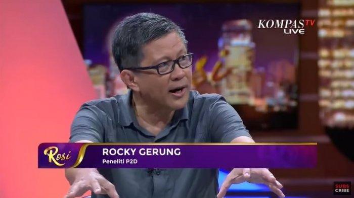 Rocky Gerung jelaskan tak setuju dengan pernyataan Tito Karnavian yang sebut Jakarta seperti Kampung.