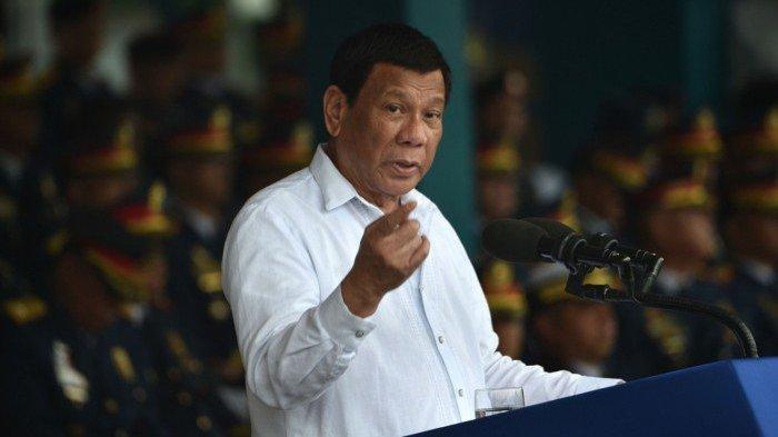 Presiden Filipina Rodrigo Duterte Calonkan Diri sebagai Wakil Presiden pada Pilpres 2022
