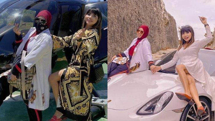Dua mantan istri Kiwil pamer sedang liburan bareng ke Bali, Eva Belisima justru terima lamaran sang kekasih.