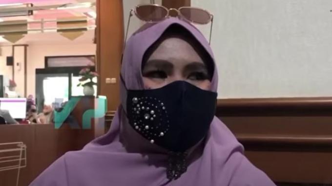 Rohimah hadir di Pengadilan Agama Jakarta Selatan