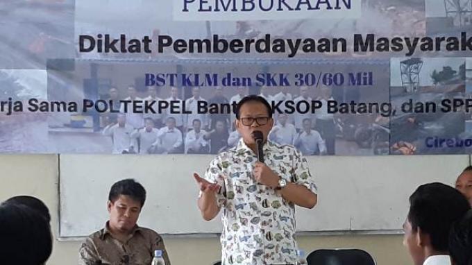 Buka Diklat BST dan SKK, Rokhmin Dahuri: Kekurangan ABK Indonesia Cuma Penguasaan Bahasa Asing