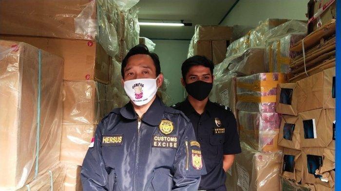 Pengiriman 4 Juta Batang Rokok Ilegal ke Jambi Digagalkan Bea Cukai