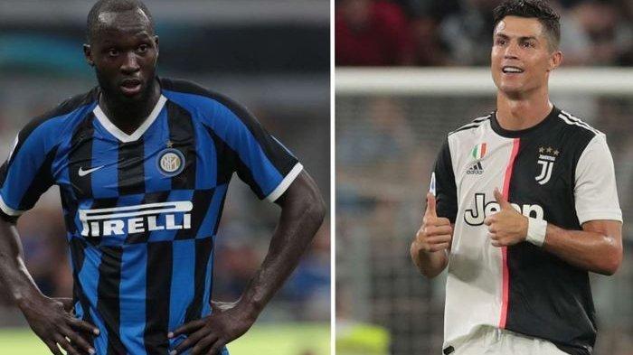 Susunan Pemain Juventus Vs Inter Milan, Adu Tajam Romelu Lukaku dan Cristiano Ronaldo
