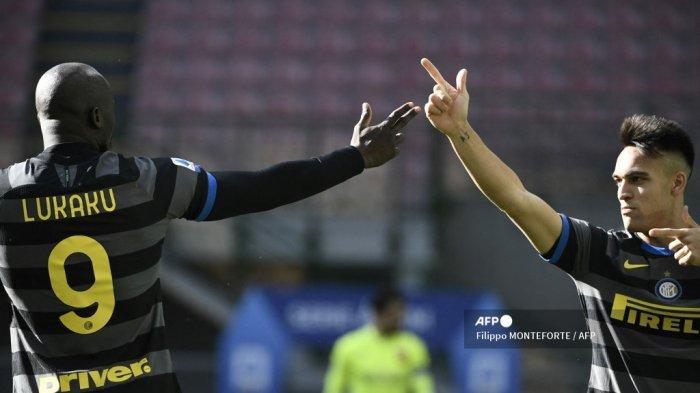 LINK Live Streaming RCTI & Susunan Pemain Inter Milan vs Atalanta, Duet LuLa Andalan Conte, Gratis