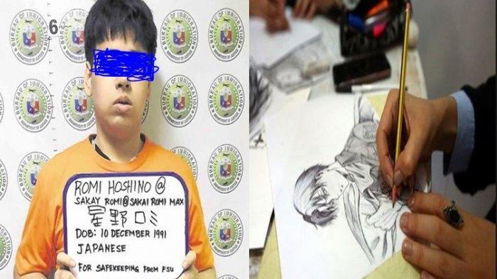Romi Hoshino, Remaja 27 Tahun Pembajak Manga Kelas Kakap Digelandang Interpol