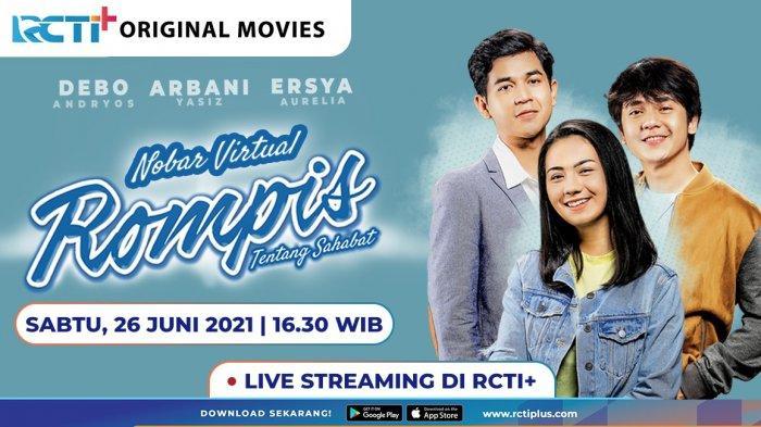 Film Rompis 'Tentang Sahabat' Sudah Tayang, Bisa Nonton Secara Streaming
