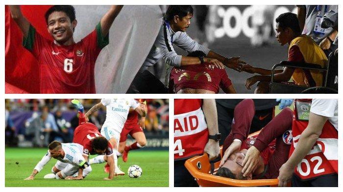 Deretan Pemain Sepak Bola yang Alami Cedera di Laga Final, Ronaldo, Salah, Hingga Terbaru Evan Dimas