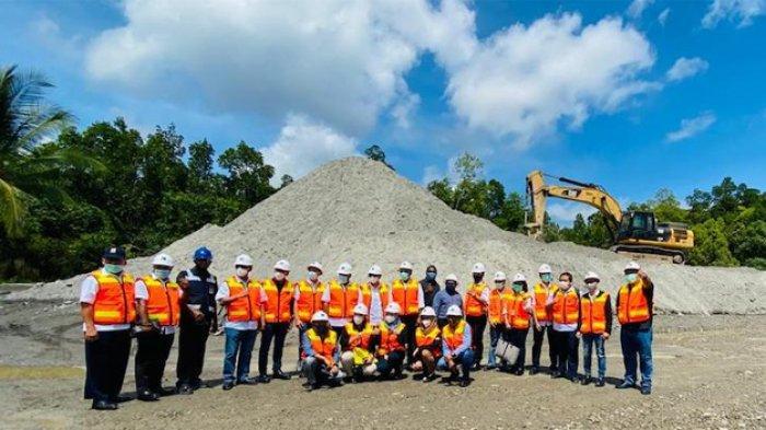 Pertama Kali, Pemanfaatan Tailing PT Freeport sebagai Material Agregat Infrastruktur Jalan di Papua