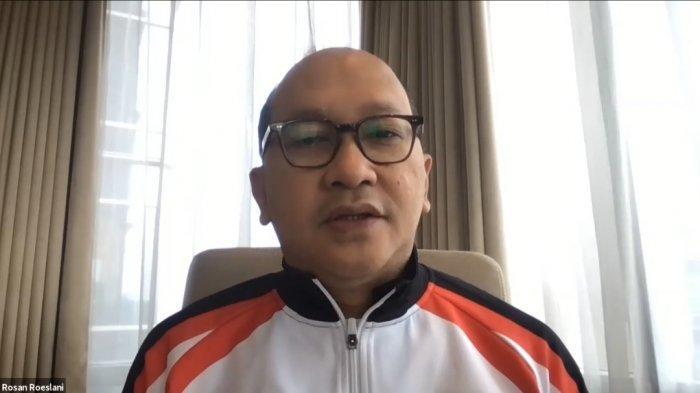 Rosan P Roeslani selaku chef de mission kontingen Indonesia untuk Olimpiade.