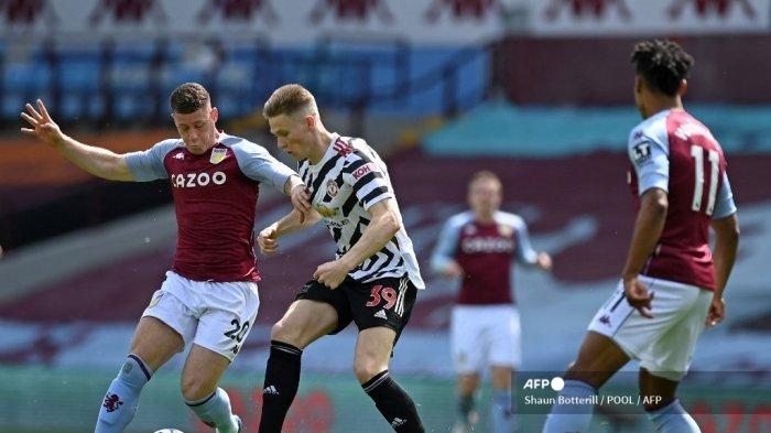 HASIL Aston Villa vs MU Liga Inggris Babak I: Wakabayashi Setan Merah Kebobolan, Skor 1-0
