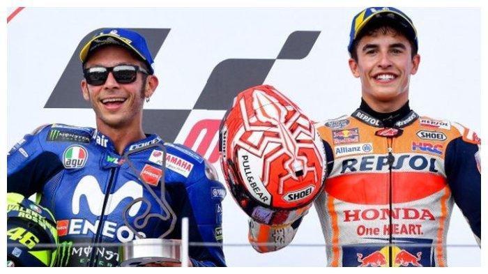 LIVE Streaming Trans7 MotoGP Portugal 2021 Gratis - Balapan Istimewa Marquez, Rossi Antusias