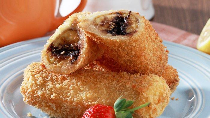 Resep Roti Goreng Pisang Cokelat untuk Camilan