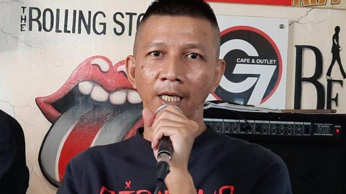 Rowman Ungu saat ditemui di kawasan Cikini Jakarta Pusat, Jumat (17/9/2021).