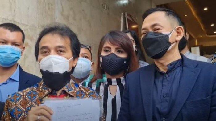 Sepakat Berdamai, Roy Suryo dan Lucky Alamsyah Saling Cabut Laporan Polisi