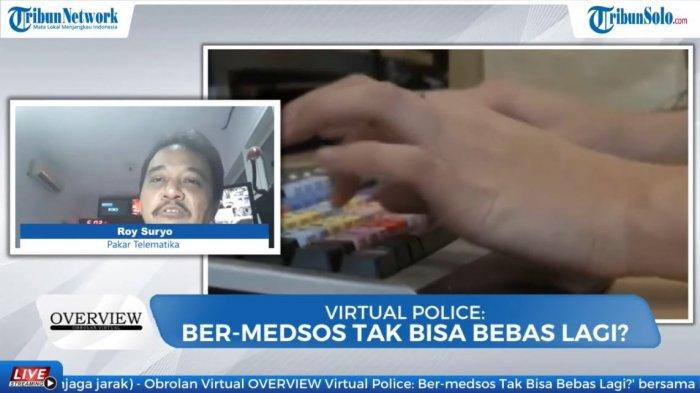 Roy Suryo dalam program diskusi Overview Tribunnews.com