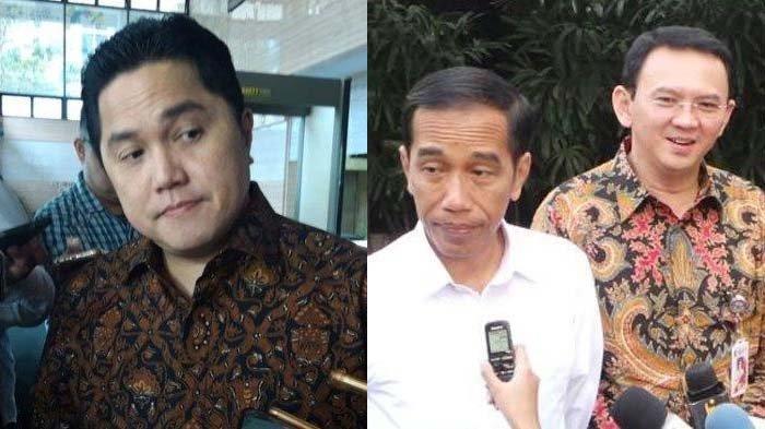 Erick Thohir dikritik Fahri Hamzah, Rizal Ramli singgung utang budi <a href='https://pontianak.tribunnews.com/tag/jokowi' title='Jokowi'>Jokowi</a> pada <a href='https://pontianak.tribunnews.com/tag/ahok' title='Ahok'>Ahok</a>