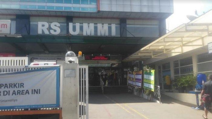 Rizieq Shihab Masih di RS Ummi Bogor, Tidak Ada Pengamanan Mencolok, Tidak Ada Kerumunan Massa