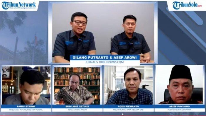 Arief Poyuono Jelaskan Latar Belakang Usul Masa Jabatan Presiden 3 Periode