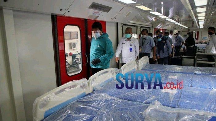 Ruang Isolasi di Kota Madiun Penuh, Kasus Covid-19 Melonjak, Pasien Akan Diisolasi di Gerbong Kereta