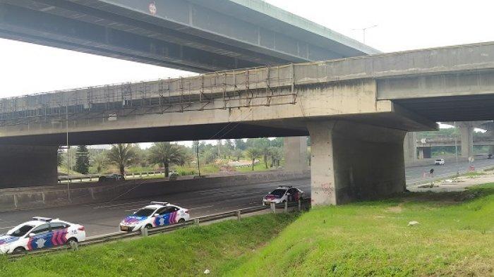 Jalan Tol Jakarta-Cikampek Terpantau Lengang Pada H+3 Lebaran 2021