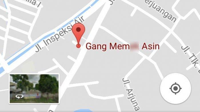 Lagi, Nama Jalan di Bekasi Dijahili di Google Maps: Nama Gang Berganti Jadi Kelamin Perempuan