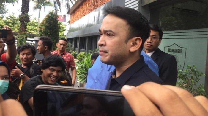 Ruben Onsu ditemui di Polda Metro Jaya, Selasa (28/1/2020).