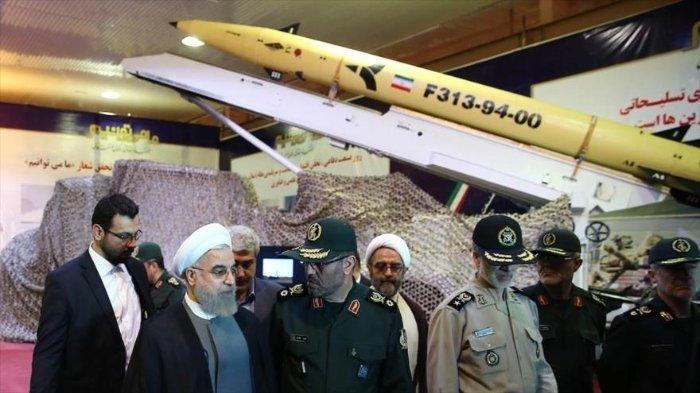 Inilah rudal yang ditembakkan oleh pasukan militer Iran ke Pangkalan AS di Irak.