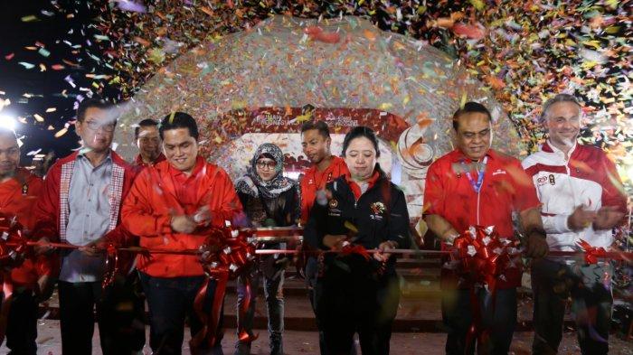 """Menko PMK Resmikan """"Rumah Indonesia Untuk Asian Games 2018"""
