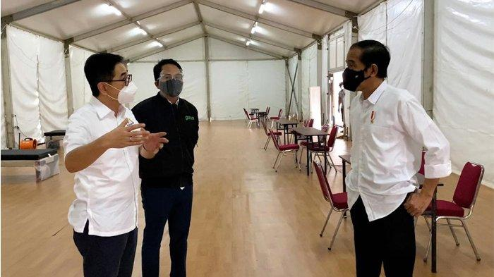 Jokowi Apresiasi Rumah Oksigen dari KADIN dan GoTo untuk Penanganan Covid-19
