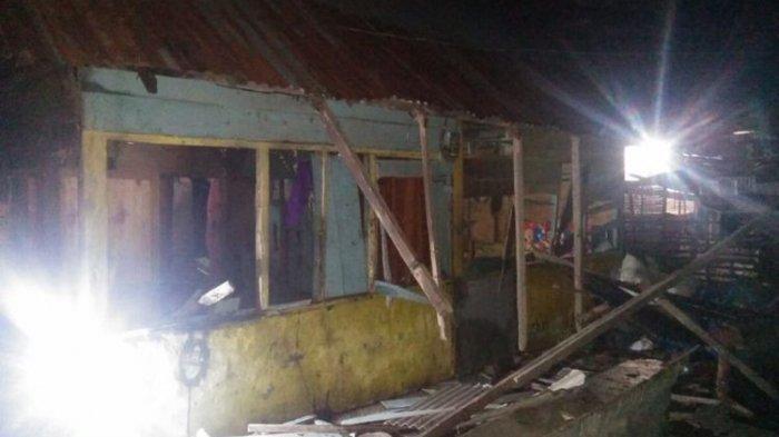 Rumah Pelajar SMP Dirusak Massa, Diduga karena Berbuat Asusila ke Anak Yatim Piatu, Pelaku Ditangkap
