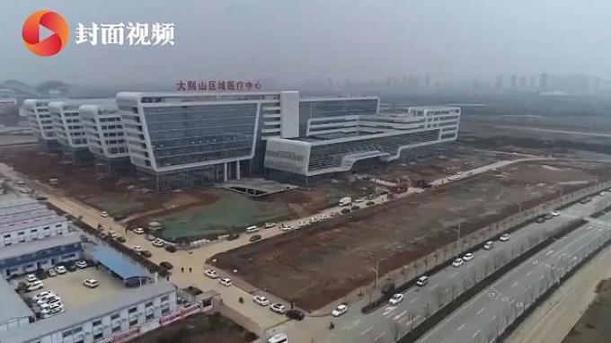 Rumah Sakit Corona di China Telah Buka, Hanya Perlu 2 Hari Ubah Bangunan Kosong jadi Pusat Medis