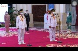 Jokowi Lantik Rusdi Mastura dan Ma'mun Amir Sebagai Gubernur dan Wagub Sulawesi Tengah