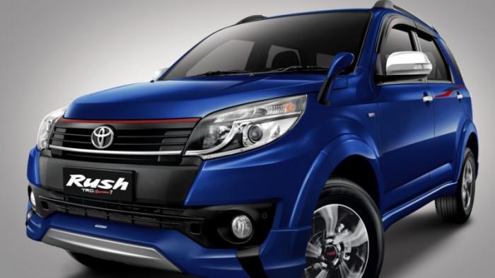 Hasil Penyegaran Toyota Rush Siap Mejeng Pekan Depan