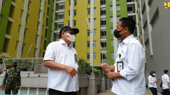 Rumah Susun (Rusun) Tingkat Tinggi Pasar Rumput, Manggarai, Jakarta, akan dijadikan sebagai fasilitas isolasi atau observasi pasien Covid-19.