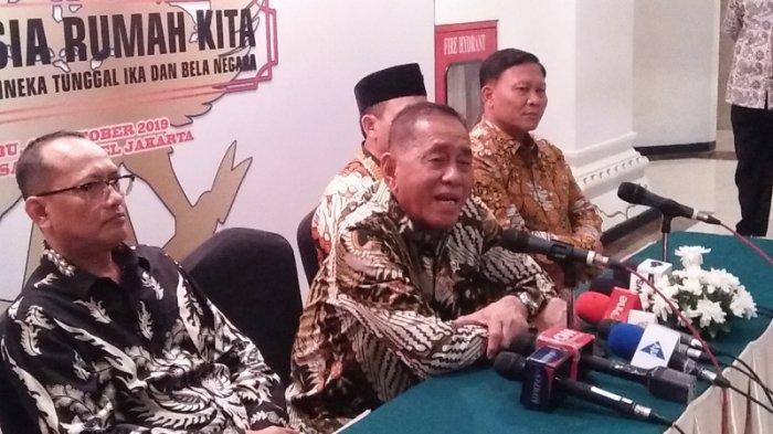 Tanggapan Menhan soal Purnawirawan TNI AL yang Diperiksa Terkait Dugaan Perencanaan Kerusuhan