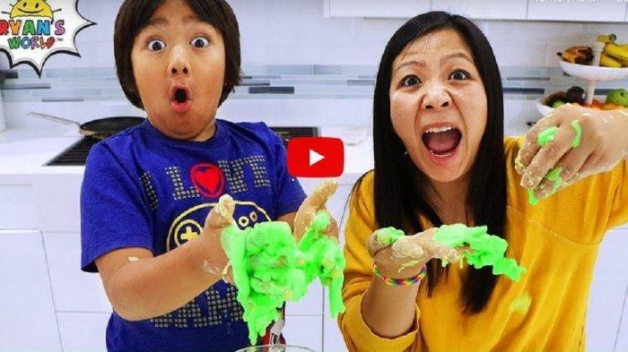 Bocah 8 Tahun Hasilkan Rp 400 Juta dari YouTube, Ulas Mainan Online hingga Masuk Daftar Forbes