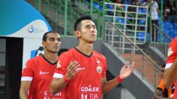 Ryuji Utomo saat membela Persija Jakarta di Liga 1 2017.