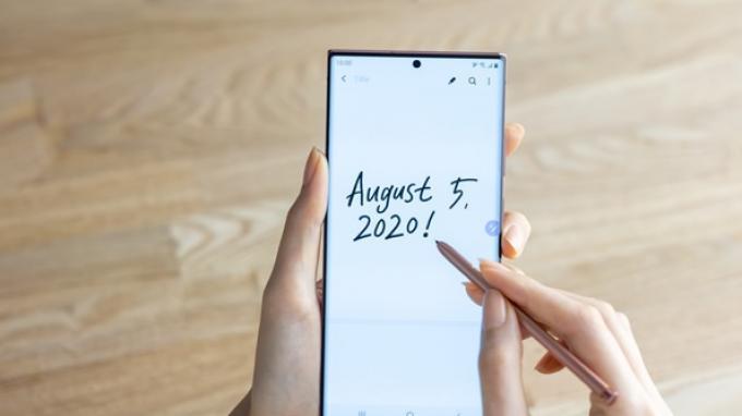 S Pen Samsung Galaxy Note20 dan Note20 Ultra memiliki latensi yang sangat rendah.