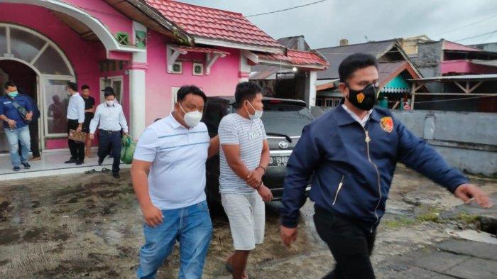 Tim Elang Juvi Polres Kepahiang, Polda Bengkulu menangkap seorang pria berinisial SA (38).