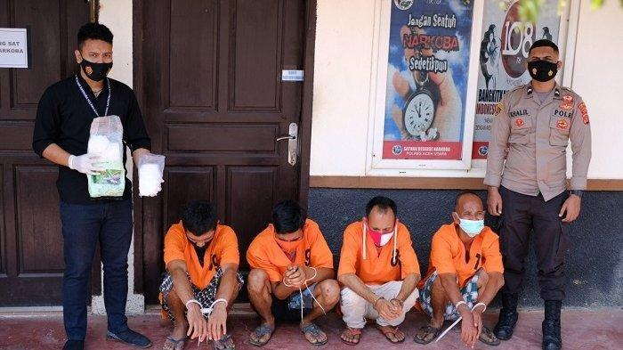 Tauke asal Aceh Utara Pemilik Sabu 1,6 Kilogram Jadi Buronan Polisi
