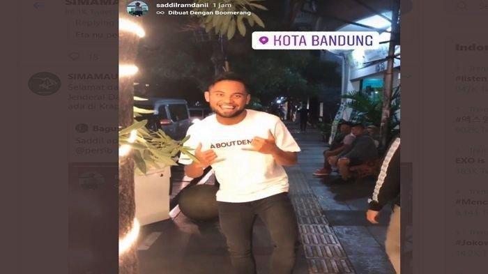 Kemiripan Unggahan Saddil Ramdani dan Bos Persib Bandung: Proses Transfer 'Done'?