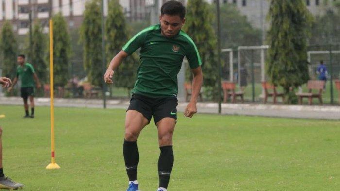 Saddil Ramdani perkuat Timnas Indonesia gantikan Greg Nwokolo. Dok: PSSI