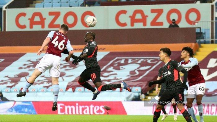 LINK Live Streaming Liverpool vs Aston Villa Liga Inggris