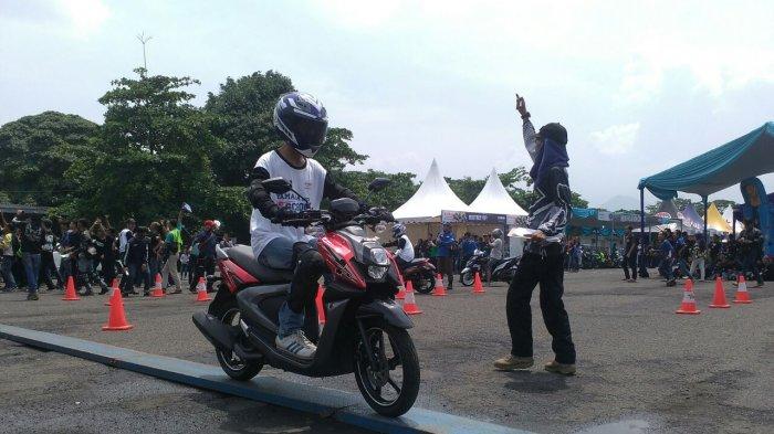 24 Finalis Adu Skill di Babak Final Safety Riding Competition di YSR 4